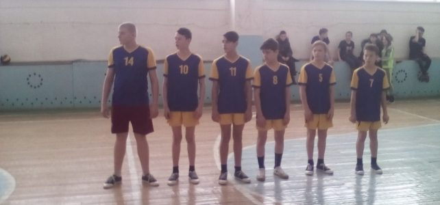 Муниципальный этап соревнований ШСЛ по волейболу среди юношей