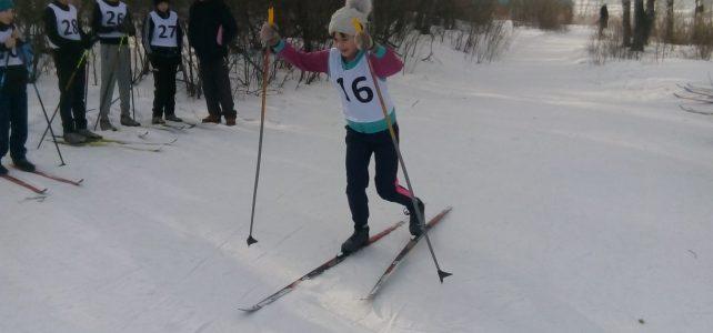 Муниципальный этап соревнований по лыжным гонкам среди учащихся с ОВЗ